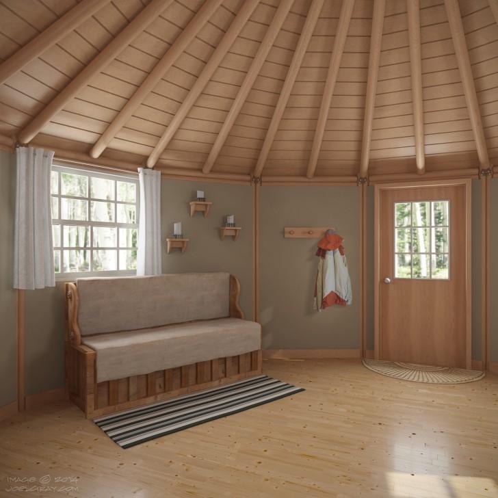 freedom yurt cabin small homes | best flooring for cabin | bester Bodenbelag für die Kabine