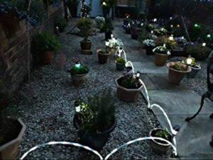 Gartenlichter und andere Beleuchtungsoptionen für den Außenbereich