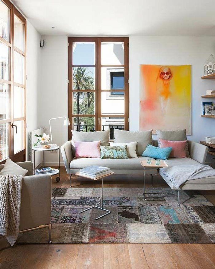 patchwork teppich als moderne und kreative lösung für ihr | teppich für ihr zuhause