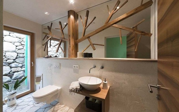 Rustikale moderne Innenräume und Möbel